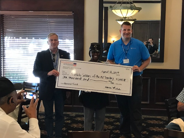 Buffalo Sodier Donation-southwest=veterans-foundation
